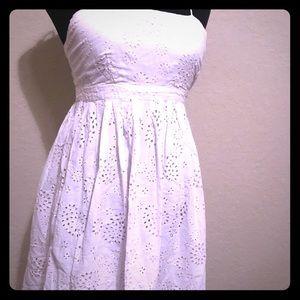 Dresses & Skirts - Cute tie strap empire Dress- Small